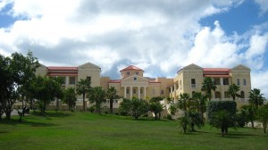 American University of the Caribbean, main building