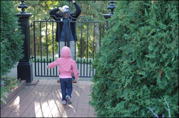 Tanner and Piper: Munsinger Gardens in St. Cloud, MN