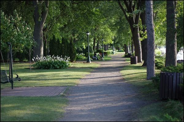 Munsinger Gardens in St. Cloud, MN